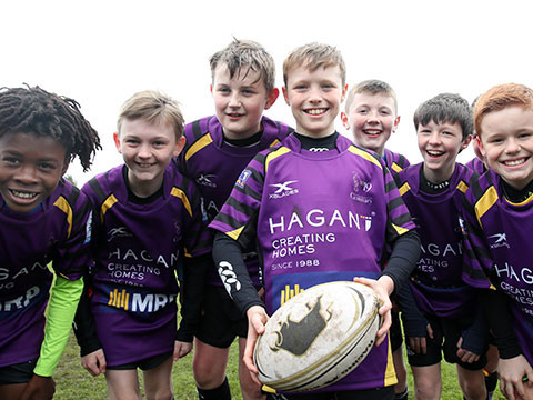 Image of Seahorses Mini Rugby Club at Instonians