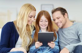 Family Viewing Tablet
